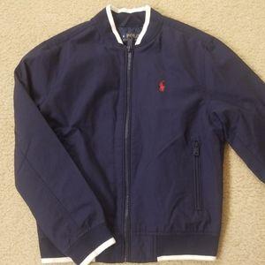 NWT kids navy Ralph Lauren jacket